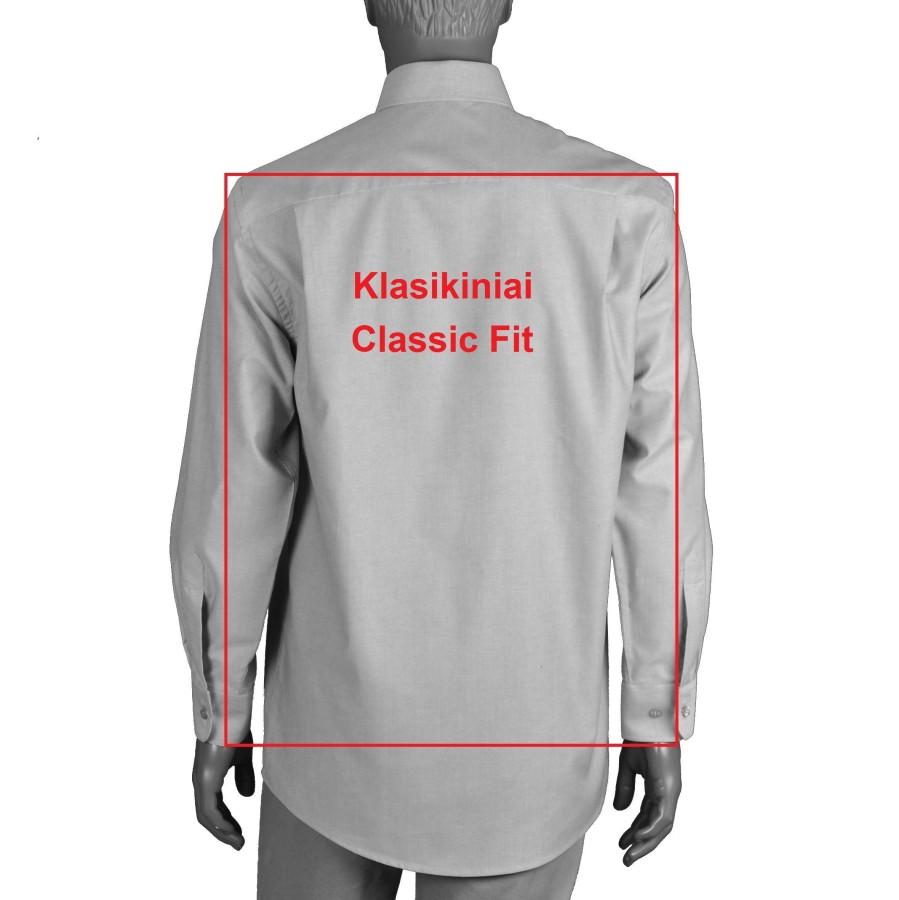 Balti vyriški marškiniai