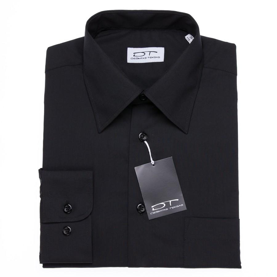 Juodi vyriški marškiniai 4849