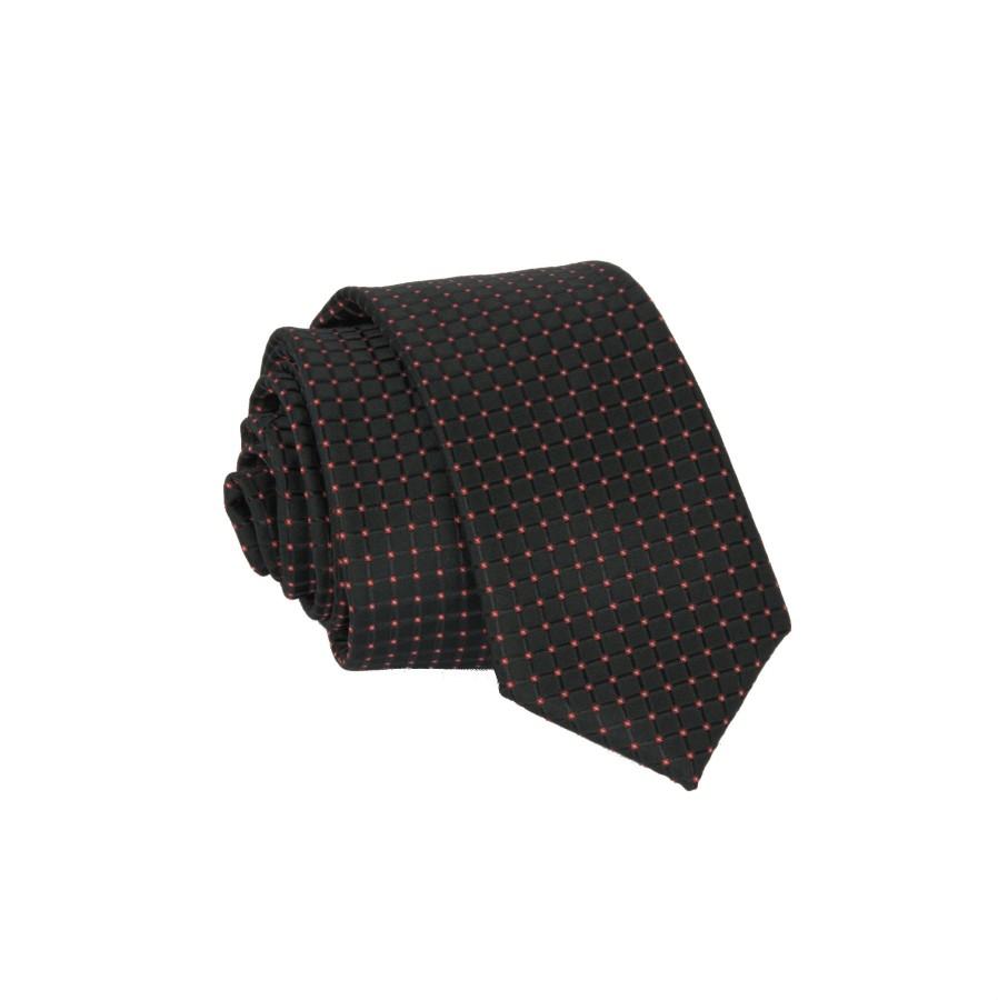 """Vyriškas kaklaraištis """"Juodi langučiai""""  01"""