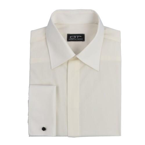Kreminiai vyriški marškiniai su sąsagomis Marshmallow