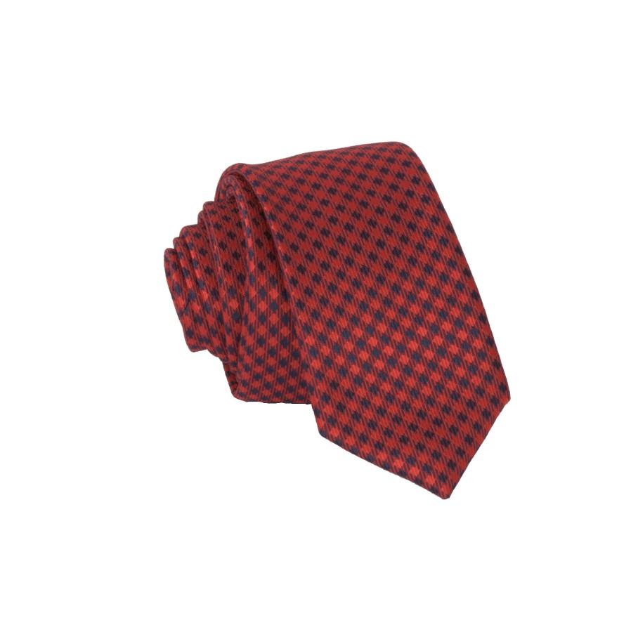 """Vyriškas kaklaraištis """"Languota raudona""""  R08"""
